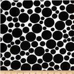 0275392 Dot.Com Jumbo Tossed Dots White/Black