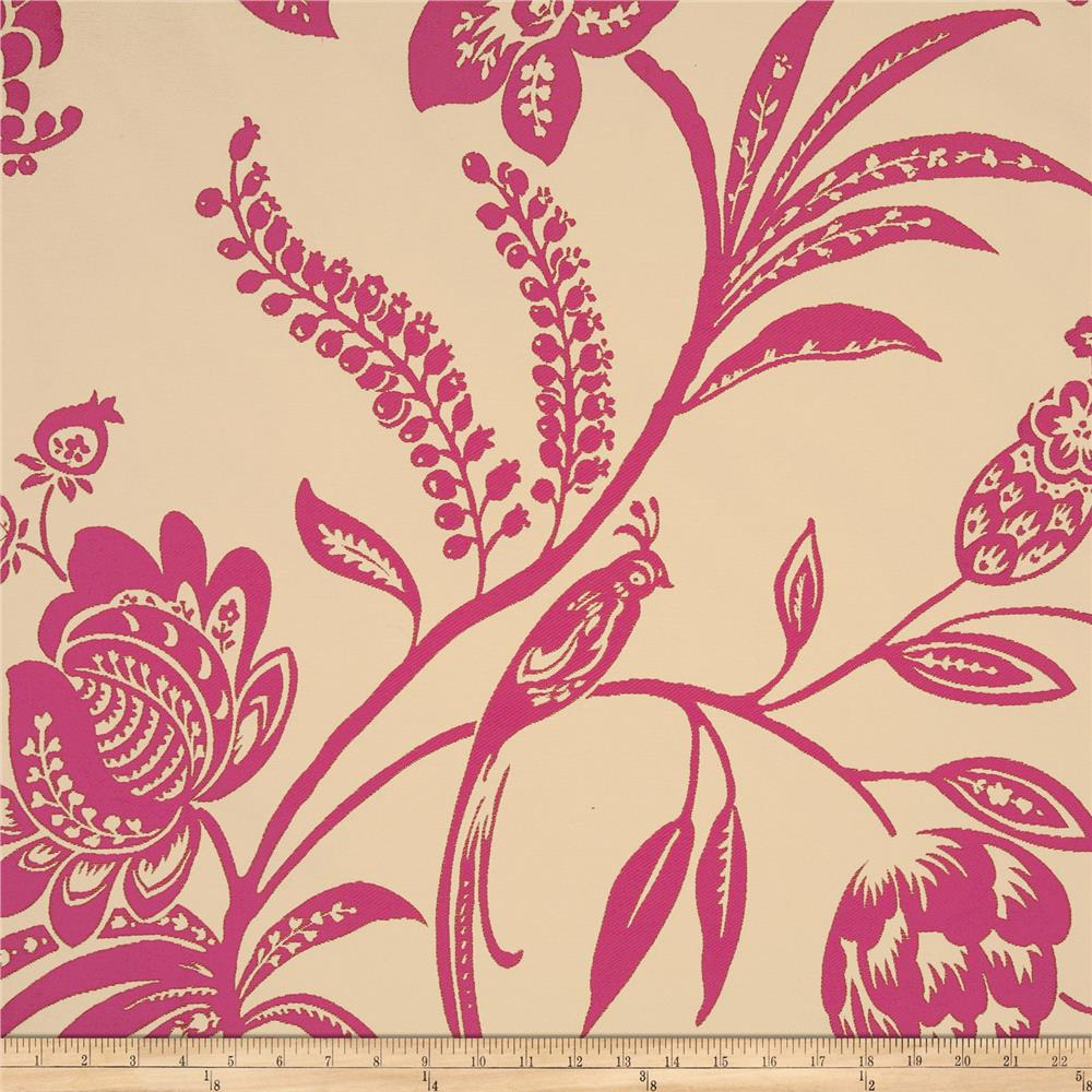 Claridge Romance Jacquard Fuchsia