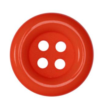 Fashion Button 1 1/2&#39;&#39; Pizazz Red