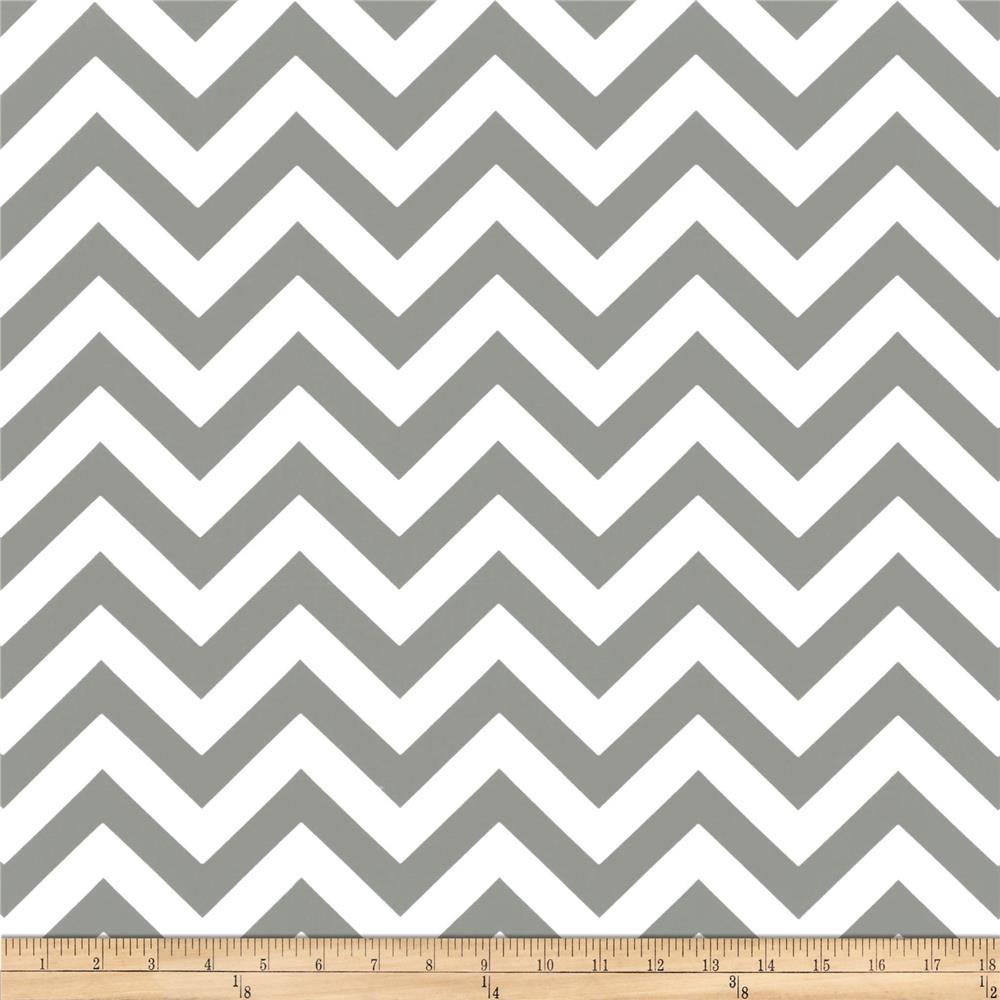 Premier Prints Indoor/Outdoor Zig Zag Grey