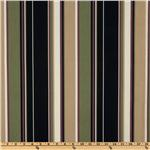 UK-632 Richloom Indoor/Outdoor Covestripe Noir