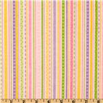 EG-689 Bitty Baby Flannel Stripes Pink
