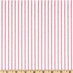 UF-211 Ticking Stripe Rose Pink/Ivory