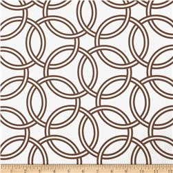 Michael Miller Bekko Home Decor Swirl Mud Brown
