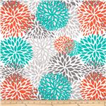 0289050 Premier Prints Indoor/Outdoor Bloom Pacific
