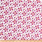 Moda Cuzco Confetti Flower Fuchsia