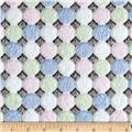 Minky Baby Candy Grey/Multi