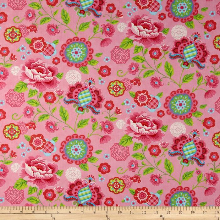Moda Gypsy Girl Gypsy Bloom Candy Pink