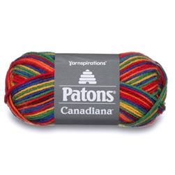 Patons Canadiana Yarn (11625) Rainbow
