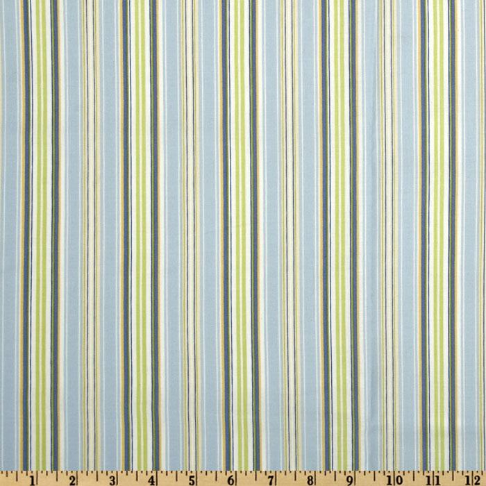 Leila Rose Stripes Blue