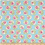 0296302 Kaffe Fassett April 13 Collection Surrey Turquoise