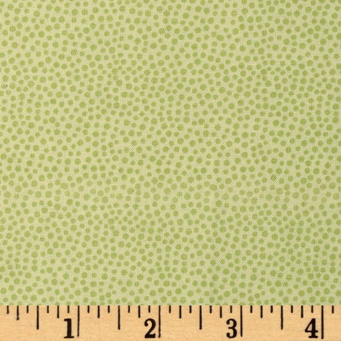 Darcy's Dots Sharp Green