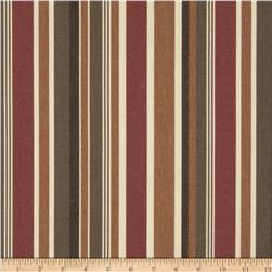 Sunbrella Outdoor Brannon Stripe Redwood