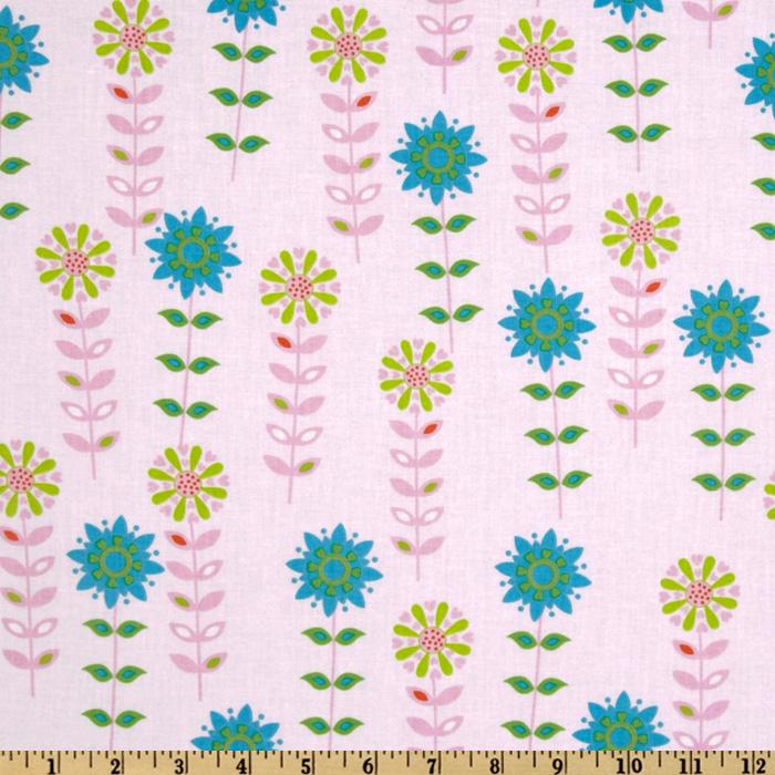Forest Friends Flower Garden Pink