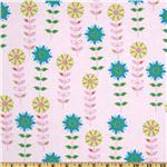 FT-851 Forest Friends Flower Garden Pink