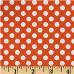 207700 Riley Blake Dots Small Orange