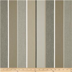 Sunbrella Outdoor Milano Stripe Charcoal