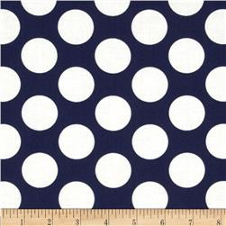 In the Navy Jumbo Dot White/Navy