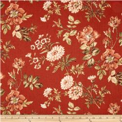 Covington Farrell Floral Crimson Red