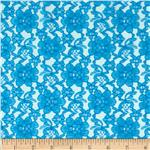 0287927 Raschel Lace Turquoise