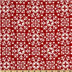 Moda Joy Snowflakes Snow