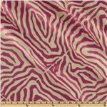 Claridge Zebra Jacquard Pink Glow