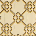 Claridge Diamond Bar Jacquard Fudge