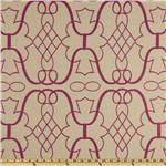 0264095 Claridge Joy Jacquard Pink Glow