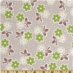 FN-388 Millie&#39;s Closet Floral Green
