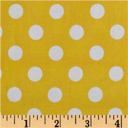 Brights & Pastels Basics Polka Dot Yellow