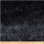 0266753 Faux Fur Electric Shag Charcoal