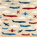 Boys Toys Airplanes Cream/Multi