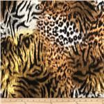 0267428 Marni Double Knit Tiger Black/Gold