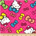 Hello Kitty Neon Expressions Bows & Dots Pink