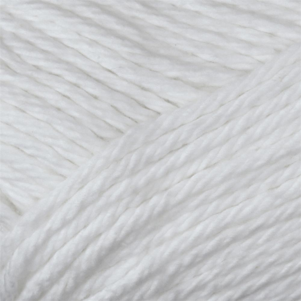 Peaches &amp; Creme Solid Yarn (01005) White