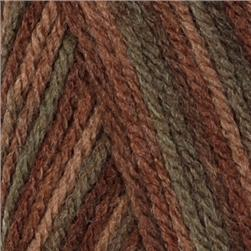 Lion Brand Wool-Ease Yarn (232) Woods Print