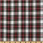 FO-642 Kaufman House of Wales Plaid Shirting Natural
