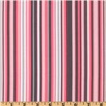 EM-542 Michael Miller It's A Girl Thing Play Stripe Bloom