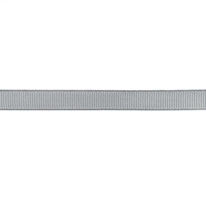"3/8"" Grosgrain Ribbon Silver"