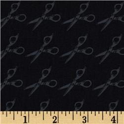 Moda Muslin Mates Scissors Midnight