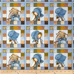 Holly Hobbie Set Patch Blue