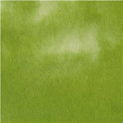 Blender Fleece Tie Dye Lime