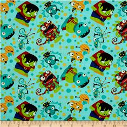 Monster Mash Party Monsters Blue