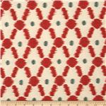 Braemore Konya Ikat Scarlet
