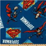 EH-849 Superman Fleece Royal Blue