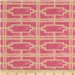 Haven's Edge Voile Walls Pink