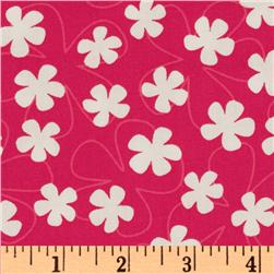 Surf Time Flowers Summer Pink