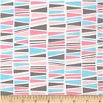 Cozy Cotton Flannel Geo Pink