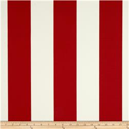Richloom Solarium Outdoor Cabana Stripe Red