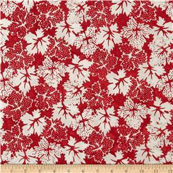 Bali Batiks Dotty Leaves Peppermint